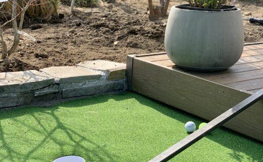 パターゴルフのできる人工芝