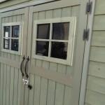 アンティーク 木製 物置 小屋 かわいい 庭 タイヤ入れ