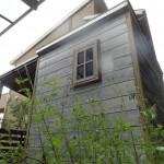 物置 収納 タイヤ置き場 テラス ベンチ 庭 小屋 ナチュラル 木製 オーダーメイド 自然素材