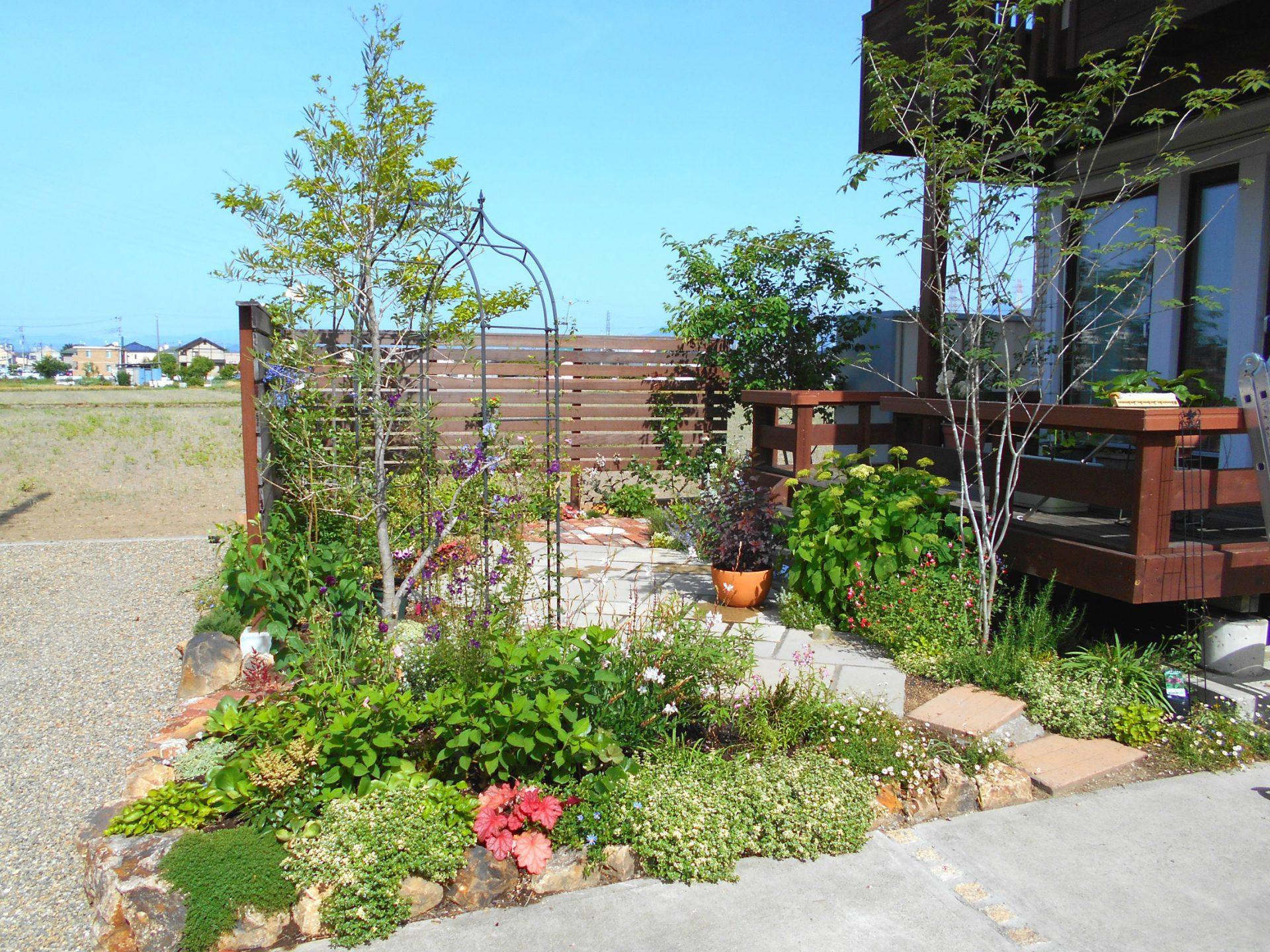 ガーデニングがステキなお庭