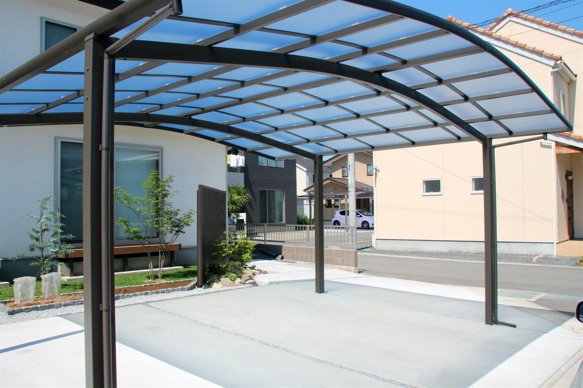 富岡市のカーポートの施工後の写真